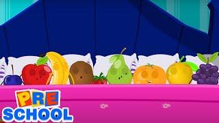 десять в постели | развивающий мультфильм | потешки для малышей | детские песни