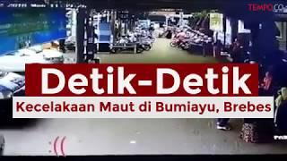 Viral! Video Detik Kecelakaan Maut di Bumiayu, Brebes