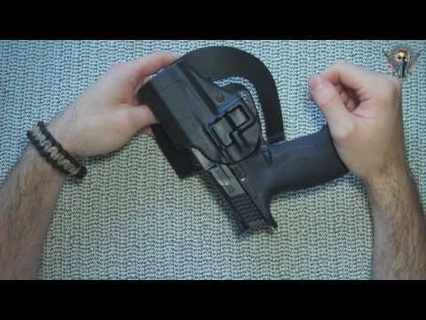 Blackhawk Serpa CQC level 2 holster for S&W M&P9 Pistol Review