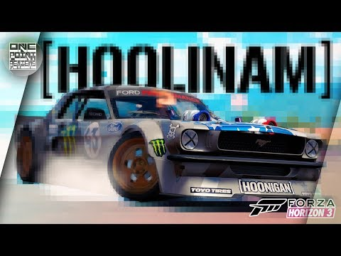 Forza Horizon 3 - Ford Mustang Hoonicorn  Кена Блока / Быстрый обзор Hoonigan Carpack
