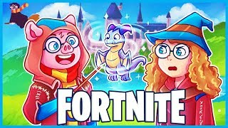 I'M A WIZARD in Fortnite: Battle Royale! (Fortnite Funny Moments & Fails)