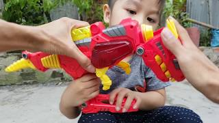 Baby Play With Rc Monter Truck Toys Car For kids ❤ ChiChi ToysReview TV ❤ Songs for Children