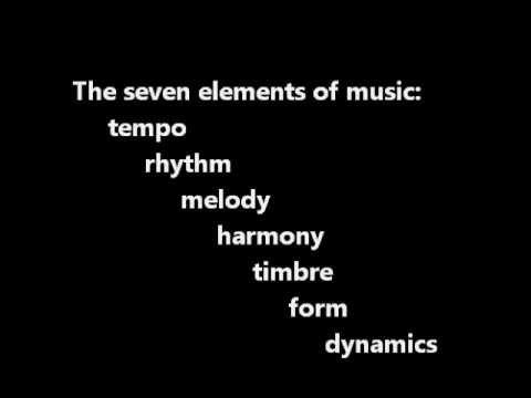 Musical Elements: Elementary, My Dear Noah