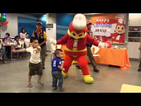 Jollibee Dance Moves 'bida Ang Saya' video