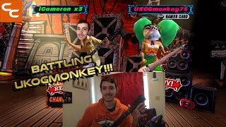 BATTLING UKOGMONKEY!!! GH3 ONLINE BATTLE AGAINST UKOGMONKEY75