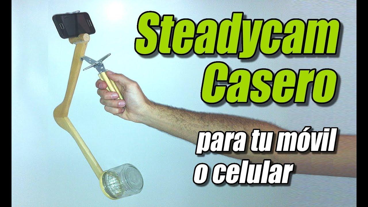 Steadycam o estabilizador de c mara casero c mo se hace for Estabilizador de camara