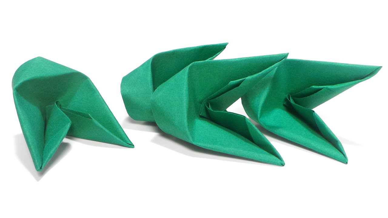 how to fold 3d origami pieces faster youtube