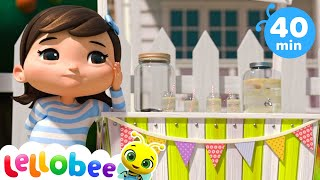 Working Hard Song | Nursery Rhymes and Kids Songs | Baby Songs | Little Baby Bum