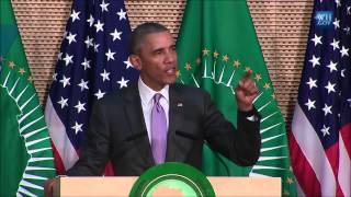 President Obama Delivers Remarks At The African Union