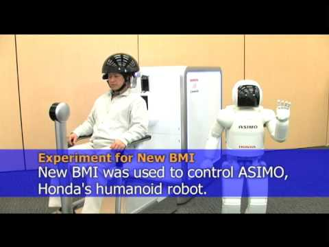 Honda Develops Brain-Machine Interface Technology Video
