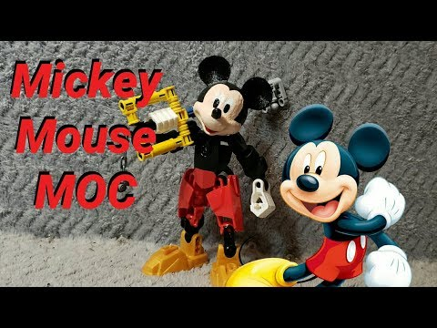 Mickey Mouse MOC Review (Lego Bionicle)