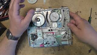 Sony VHS mechanism Mechanical Repair