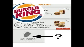 How to fix Burger King APP if your COUPON won't load