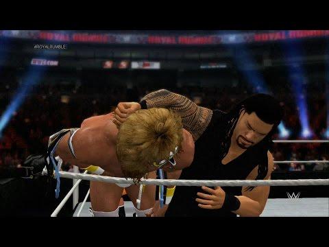 Wwe 2k15 - Royal Rumble (30-man Royal Rumble) 1080p Hd video