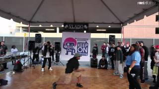 Download Lagu Comfort Fedoke vs Miss Funk | KOD USA 2012 Hip Hop Top 8 | Funk'd Up TV Gratis STAFABAND