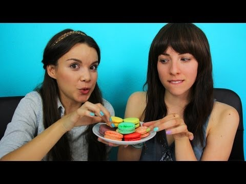 MACARON CHALLENGE W/ INGRID!