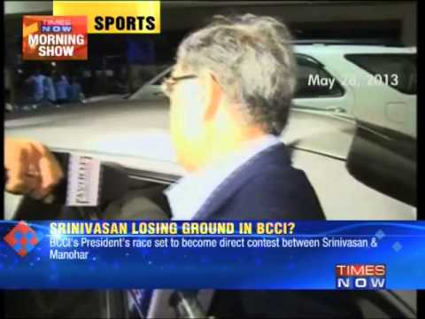 Shashank Manohar in race for post of BCCI chief