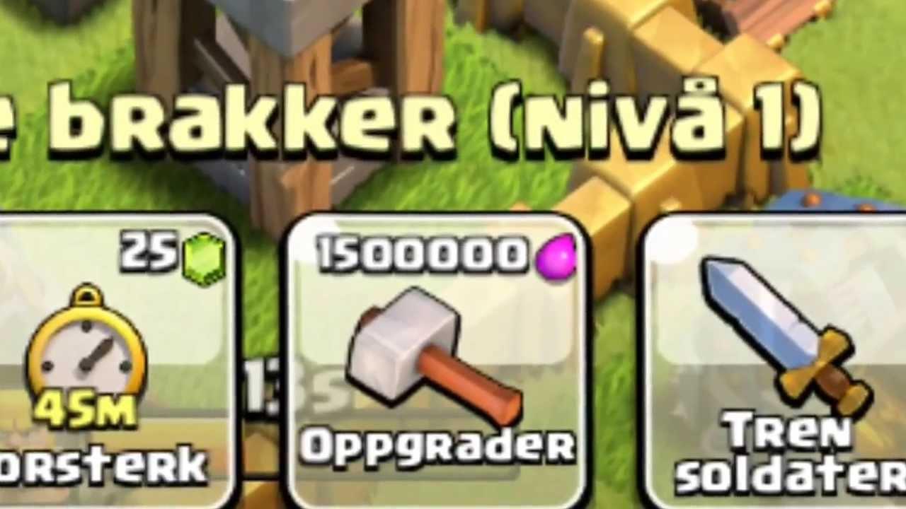 Clash of clans upgrading my dark barracks to level 2 youtube