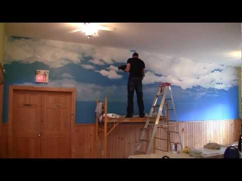 Time lapse Mural at Parlee Beach Motel