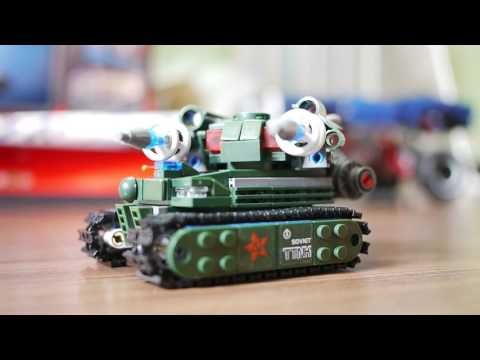 Kazi: Red Alert Tesla Tank (Lego compatible)