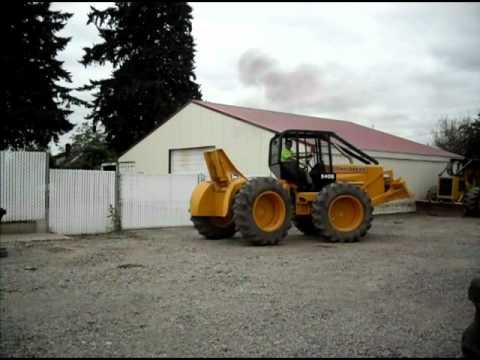 John Deere 540B winch Skidder