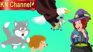 Hoạt hình KN Channel BÉ NA PHÁT HIỆN BÀ PHÙ THỦY GIẢ LÀM TIÊN BƯỚM BẮT CÓC EM BÉ tập 4