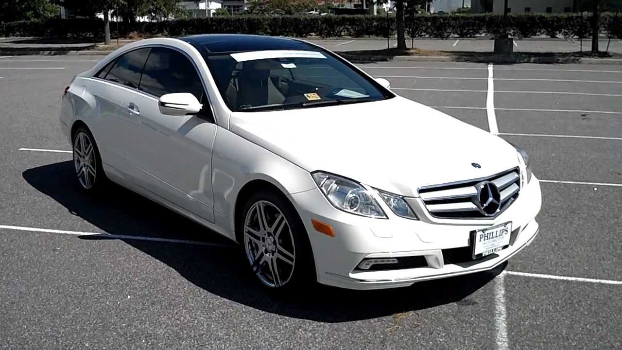 2010 mercedes benz e350 coupe phillips automotive virginia for Used mercedes benz e350 coupe