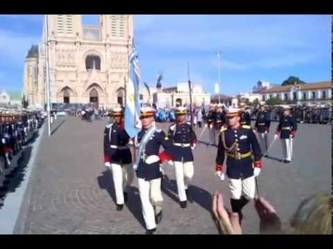 Jura de la Bandera a los Pies de la Virgen Cadetes Colegio Militar 2012