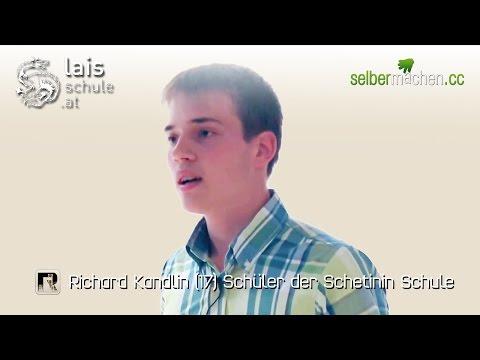 Richard Kandlin (17) - Natürliches lernen an der Schetinin Schule (LAIS-Schule)