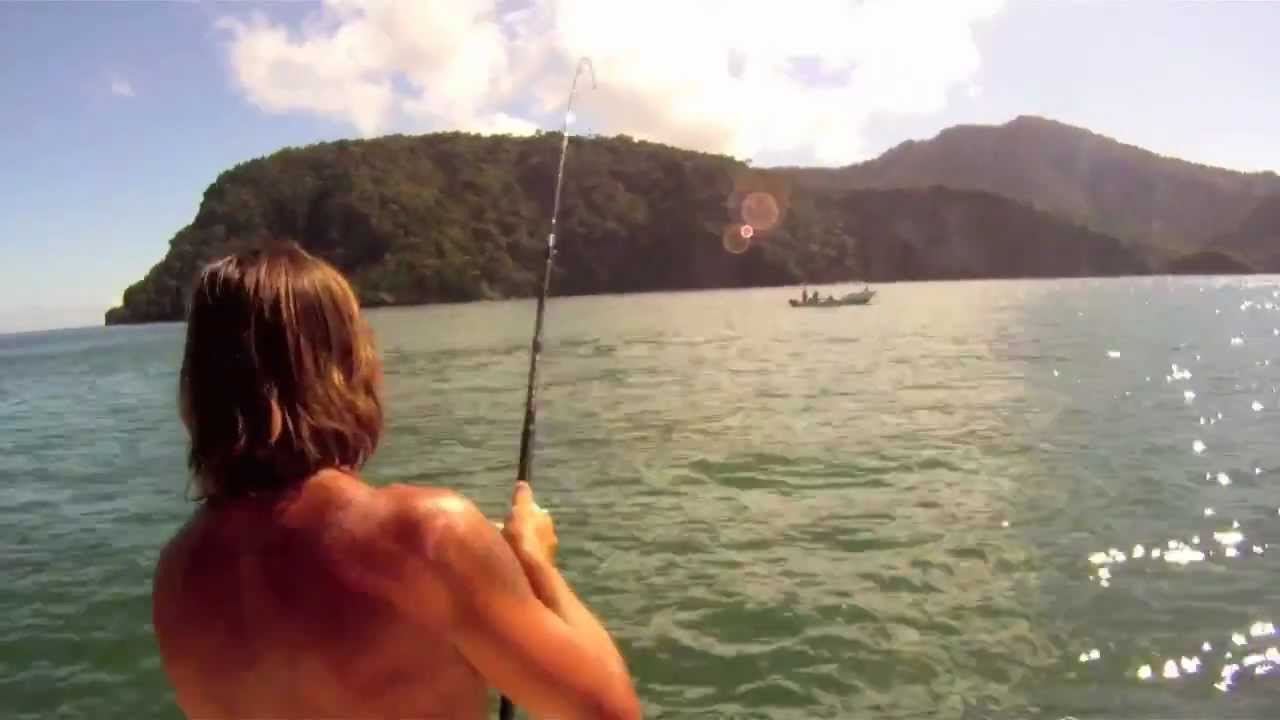 Tarpon fishing in trinidad with grumpy mike part 2 of 3 for Grumpys fishing report