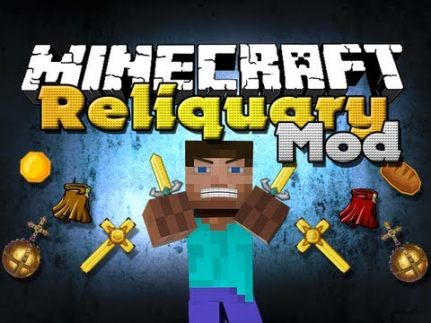 Minecraft Mods - Xeno's Reliquary - New Items and Weapons