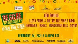 Reggae Wednesdays - Reggae Gone Global 2021 #ReggaeMonth2021