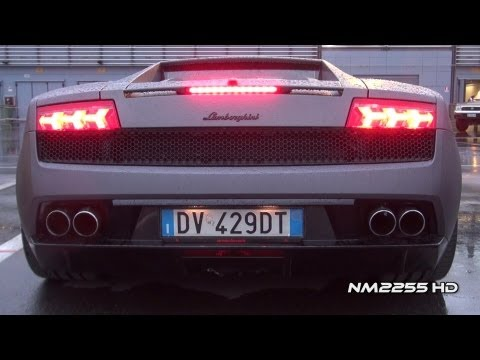 Lamborghini Gallardo LP560 with Tubi Style Amazing Sound!