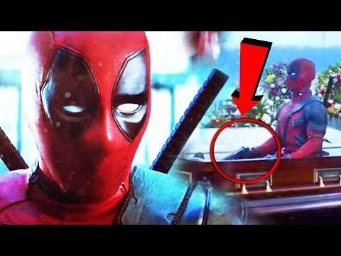 Deadpool 2 Trailer No viste esto y te Sorprenderá- Análisis Teaser Wet on wet