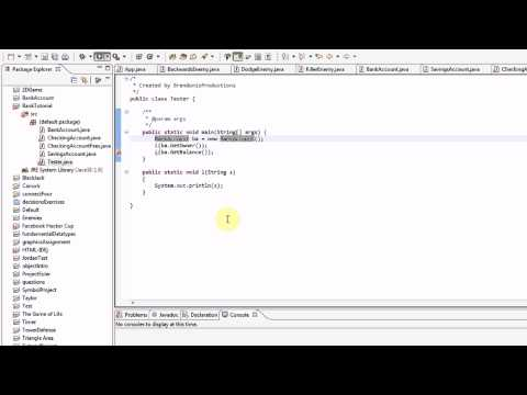 Learning Java: Part 13: Inheritance (Part 2/2)