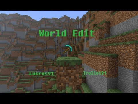 Tutoriel Minecraft: World Edit 1.4.6 base + Commande Terra-forming
