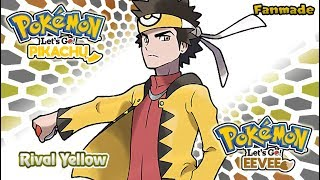 [FAKE] Pokemon Let's Go Pikachu & Eevee : Yellow Battle theme (Reverse Red)