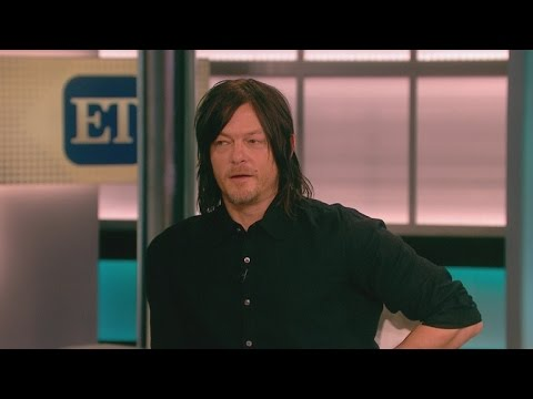 'The Walking Dead's Norman Reedus Talks Cats, Crossbows, and Keeping Andrew Lincoln's Beard!
