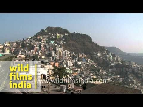 A Glorious Morning In Crowded Aizawl, Mizoram video