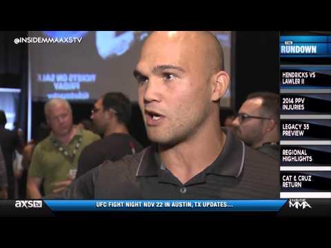 Johny Hendricks and Robbie Lawler Talk Rematch on Inside MMA
