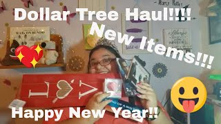 Dollar Tree Haul - January 1st, 2019 - New And Interesting Finds!!! (Happy New Year!!) (Funny!!!)