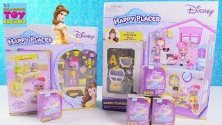 Disney Happy Places Townhouse Belle Dining Blind Bag Toy Review | PSToyReviews