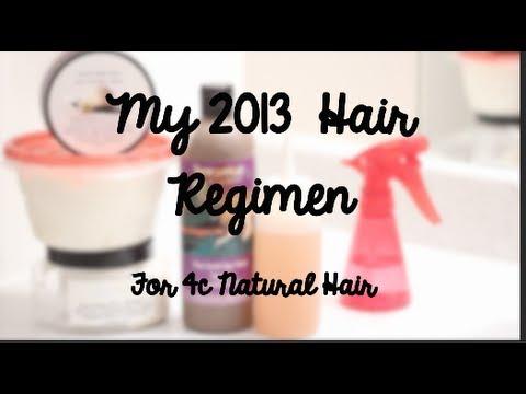 [*127*] My 2013 EASY & SIMPLE Natural Hair Regimen (4C Hair Type)
