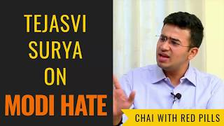 Tejasvi Surya on Modi hate becoming India hate (Chai With Red Pills)