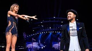 Taylor Swift Justin Timberlake Duet Mirrors on 1989 World Tour VIDEO