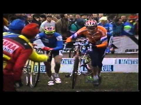 Finale WK cyclocross 1996 - Montreuil - Adri van der Poel