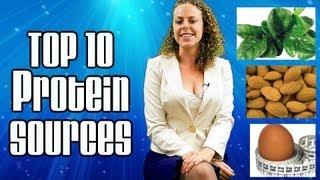 Top 10 Protein Sources, Healthy Vegetarian & Meat Foods, Weight Loss Nutrition Tips | Health Coach