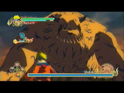 Naruto: Ultimate Ninja Storm - Shukaku Battle [HD]