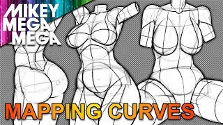 MAPPING FEMALE BODY CURVES FOR ANIME MANGA
