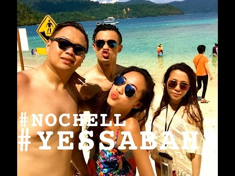 Nochella,We're At SABAH! | My Travel Vlogo